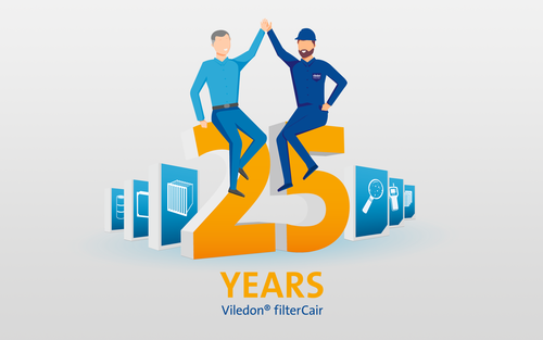 25 Years filterCair service