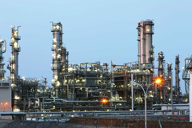 Gasphasenfiltration Petrochemische Industrie
