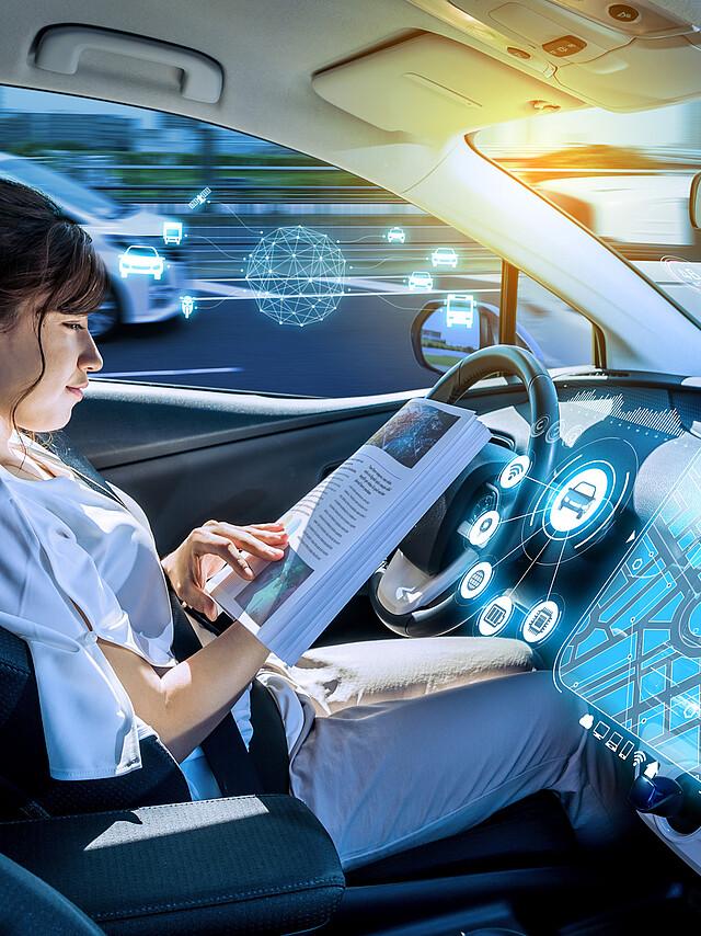 [Translate to Deutsch:] Autonomous driving