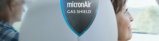 micronAir Gas Shield - The new protection level against gases and odors