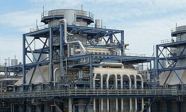 Gasturbinen und Kompressoren Kraftwerke