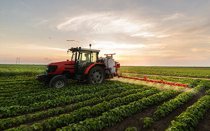 Synthetic pesticides in agriculture