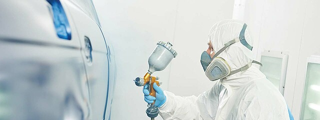Air filters paint booths