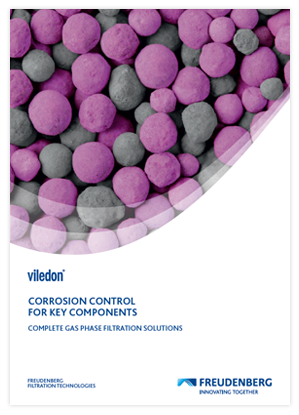 Corrosion control for key components